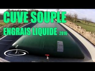 La cuve souple à engrais liquide – 2016