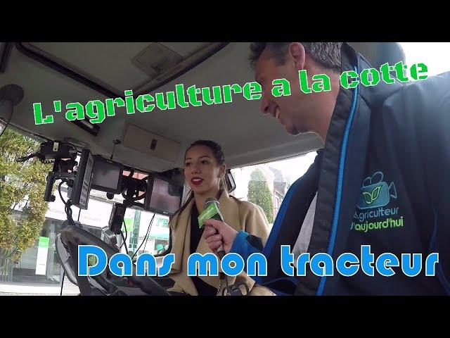 L'agriculture a la cotte à lens : mes coulisses