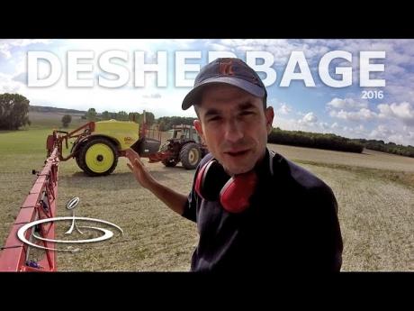 Désherbage des repousses de blé dans le colza – 2016