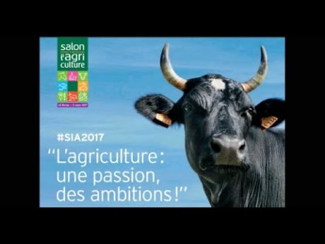 Ma visite au salon de l'agriculture – sia – 2017