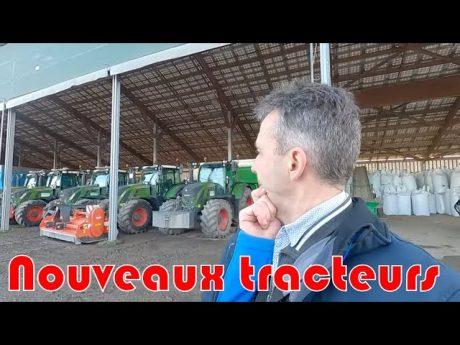 6 nouveaux tracteurs dans la cuma