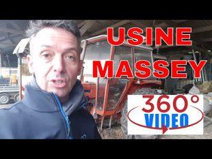 Visitez l'usine massey ferguson en 360