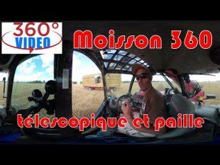 Télescopique et paille : moisson 360