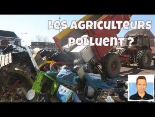 Les agriculteurs polluent ? opération ville propre