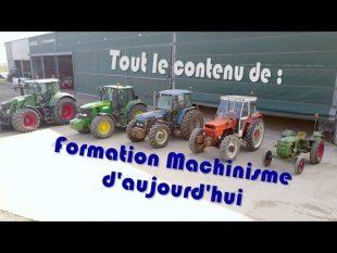 Machinisme d'@ujourd'hui : le contenu de la formation et des extraits.