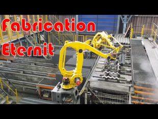 La plus grosse machine pour fabriquer des plaques : usine eternit d'albi