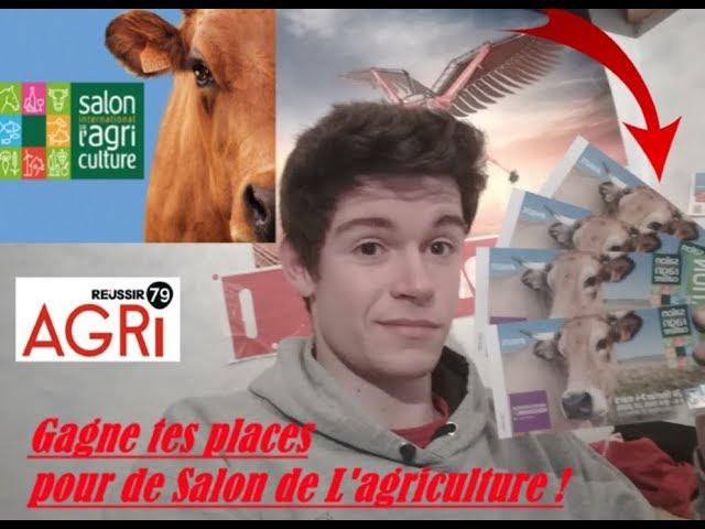 Gagne tes places pour le salon de l 39 agriculture 2018 - Salon de l agriculture place gratuite ...