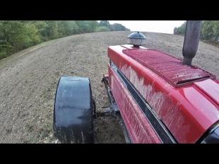 Dans la boue, la fin des semis de blé – 2018