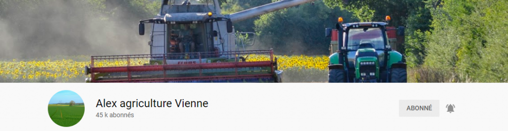 Alex agriculteur vienne youtube