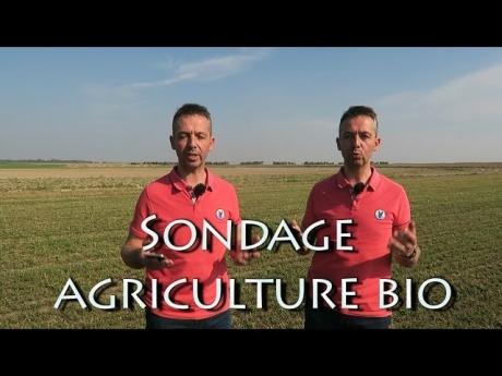 Sondage agriculture bio.