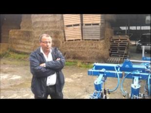 Présentation bineuse carre maïs guidage caméra