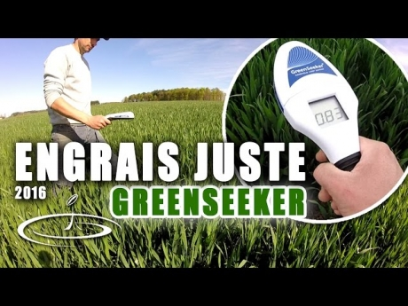 L'engrais au plus juste avec le greenseeker – 2016