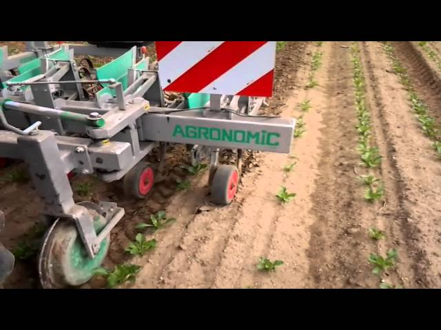 Demo active bineuse agronomic guidage camera