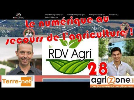 Le numérique au secours de l'agriculture ! : rdvagri 28