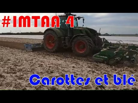 Préparation de sol carottes et blé #imtaa episode episode 4