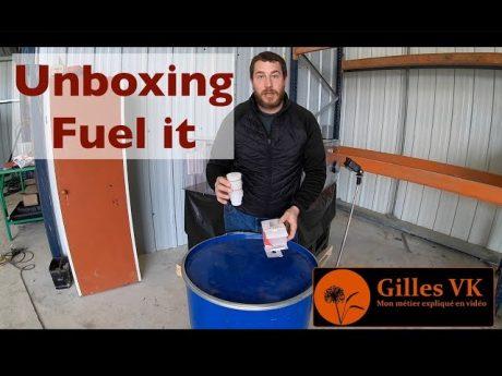 Unboxing : fuel it connecter sa cuve à gnr à son smartphone !