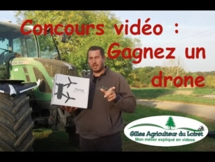 Concours vidéo : gagnez un drone
