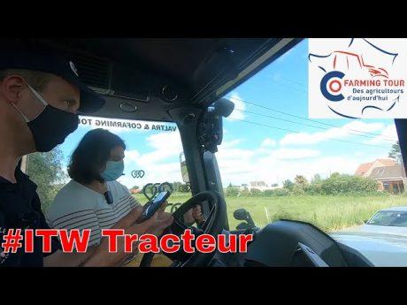 Agricultures du futur avec marion lhote : interview tracteur