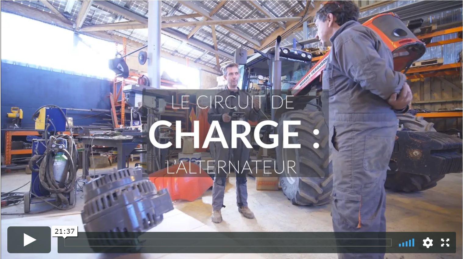 Circuit de chrge alternateur
