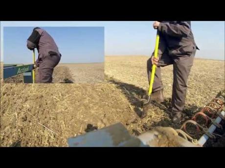 Semis de betterave et préparation de sol.