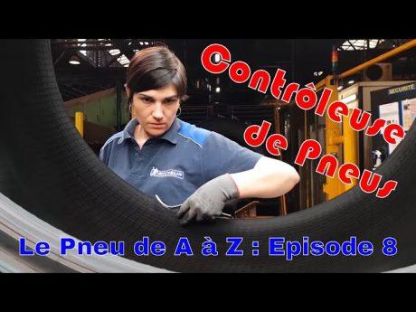 Contrôleuse de pneu agricole : le pneu de a à z épisode 8