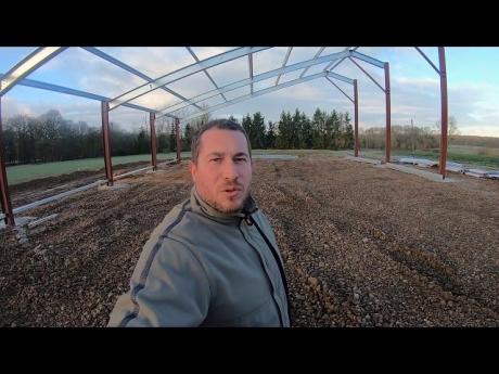 Un nouvel hangar pour ma ferme !