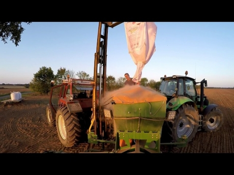 Semis de blé !