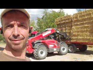 Reality farming déchargement paille