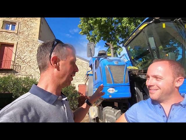 Matériel de viticulture bio
