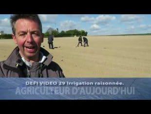 29 irrigation raisonnée