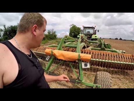 Déchaumage des chaumes de colza