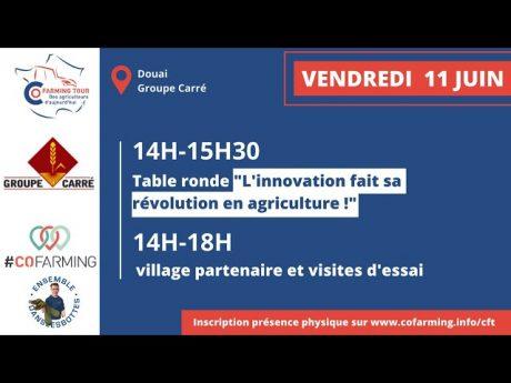 💬 l'innovation fait sa révolution en agriculture – table ronde #cft – 11/06/2021