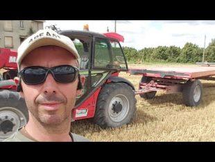 Reality farming ramassage paille