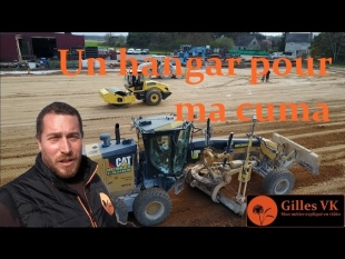 Un hangar pour ma cuma : terrassement et traitement du sol