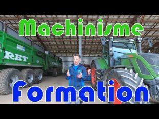 Découvrez la nouvelle formation machinisme