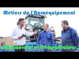 Les métiers de l'agroéquipement.