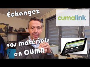 Échangez vos matériels en cuma avec : cumalink