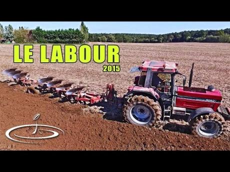 Labour pour préparation des semis d'orge – 2015