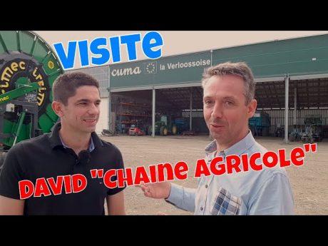 David de la chaine agricole visite ma cuma