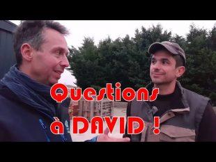Mes questions à david : chaîne agricole