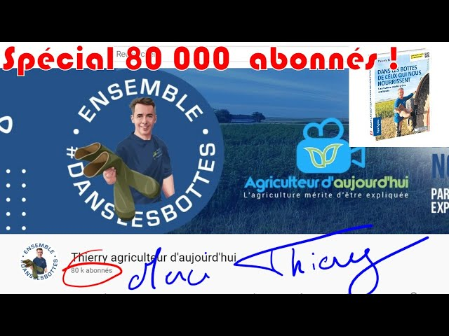 Spécial 80 000 abonnés, posez moi vos questions ! : rdv agri spécial 80k