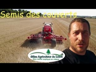 Agroécologie : semis des couverts