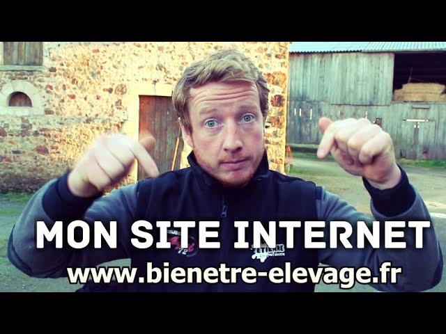 Mon site internet !! www.bienetre elevage.fr