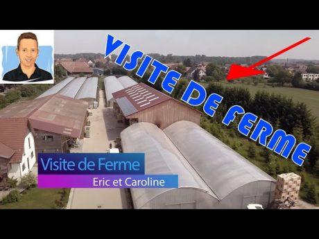 Eric et caroline en alsace : visite de ferme