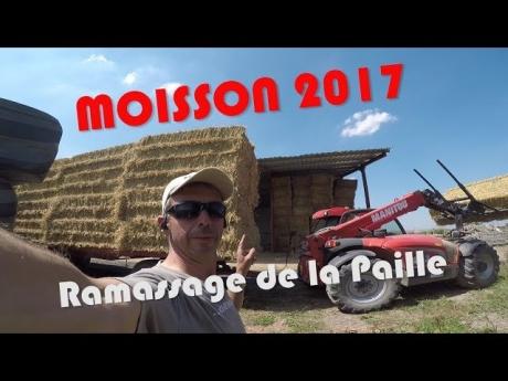 Moisson : ramassage de paille 2017