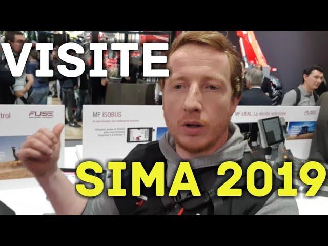 Sima2019 #1 visite du salon