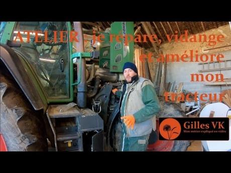 Atelier : je répare, vidange et améliore mon tracteur