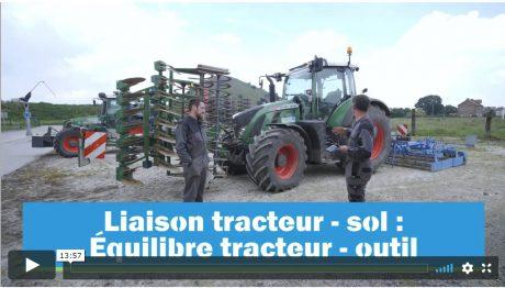 Liaison tracteur outil