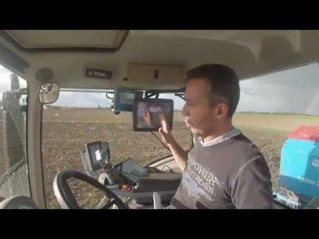 Nouvelle technologie le guidage gps rtk