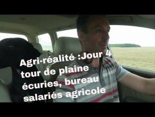 Agri réalité : jour 4 : bureau, écuries, tour de plaine, salariés